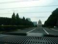 タクシーから見た国会