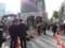 新橋駅前での民主党街頭演説