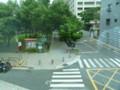 台北のホテル、星美飯店からの景色