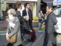 小宮山洋子の応援にかけつけた羽田孜元総理