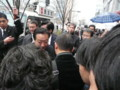 選挙最終日、秋葉原で野田佳彦総理と握手しました
