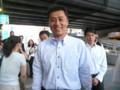 [笑顔の候補者]笑顔の細野豪志幹事長