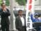 完全に民主党運動員と化した田中美絵子元衆議院議員(右)