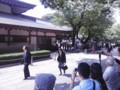 靖国神社を後にする櫻井よしこ