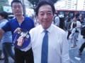[笑顔の候補者]田中康夫