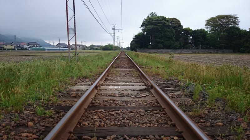 一畑電車線路