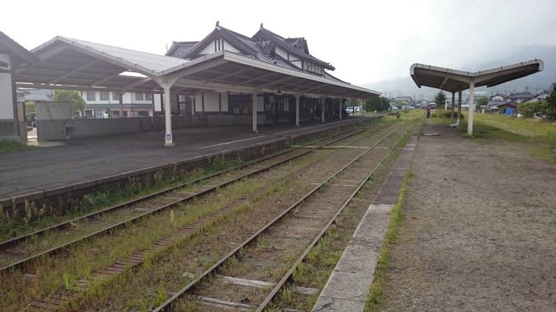旧大社駅ホーム