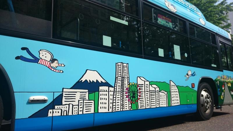 「KINSHIO YOKOHAMA BUS」3