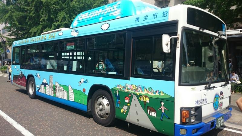 「KINSHIO YOKOHAMA BUS」1