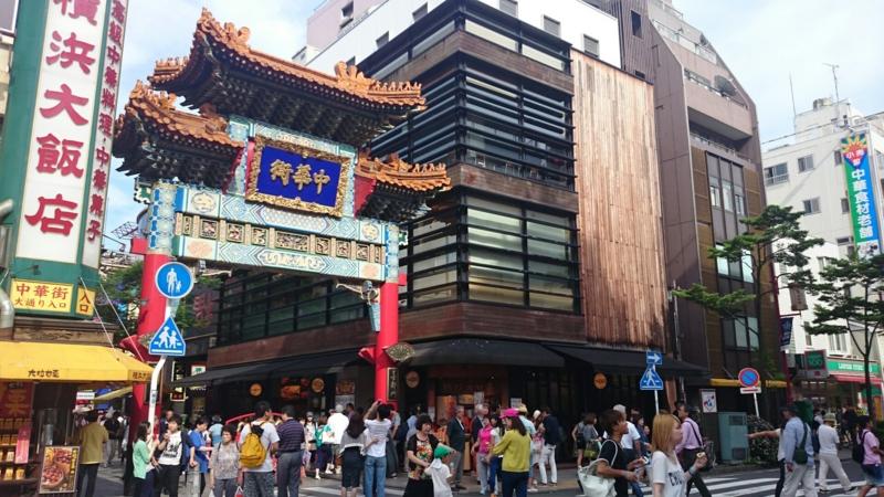 横浜中華街「善隣門」