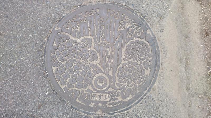 鳥取県東伯郡琴浦町(旧東伯町)のマンホール