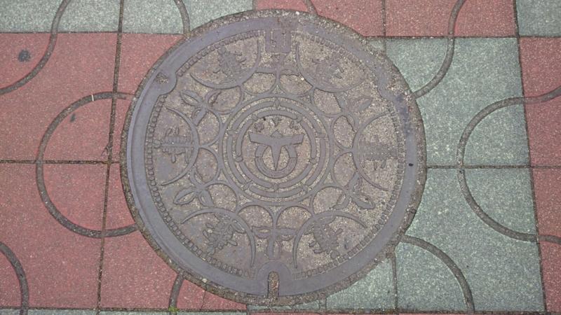 兵庫県たつの市のマンホール