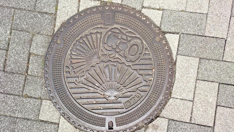 愛知県安城市のマンホール