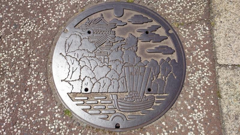 愛知県岡崎市のマンホール