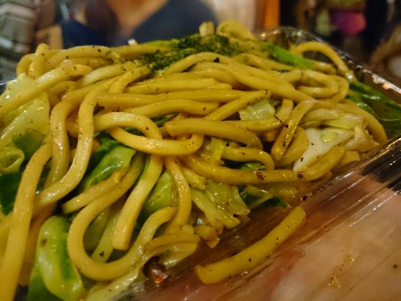 川越のB級グルメ「太麺やきそば」