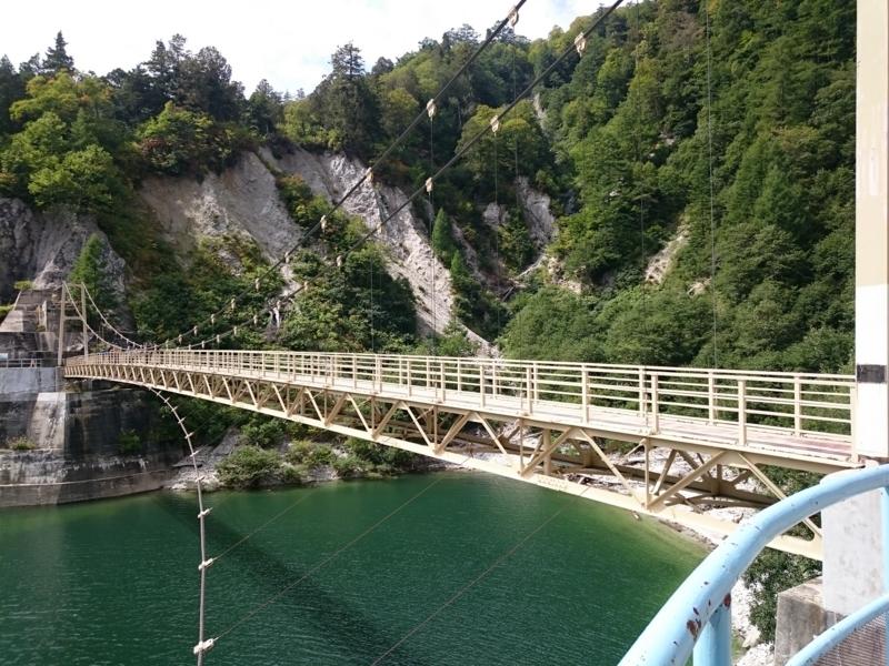 カンパ谷の吊り橋