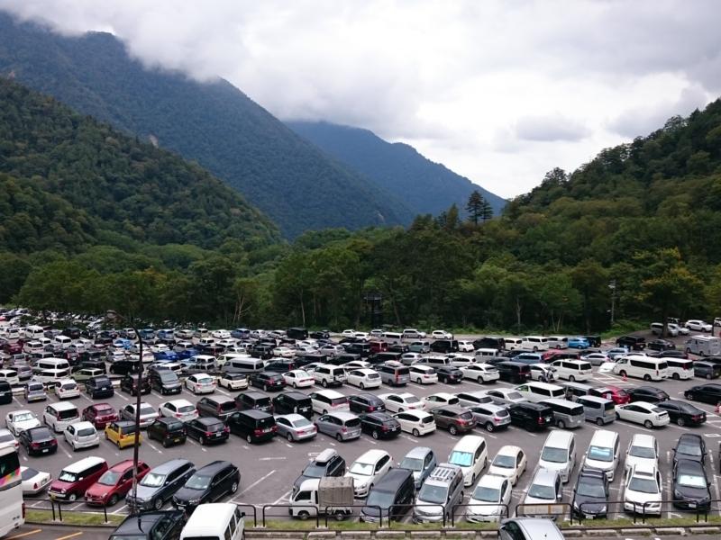 駐車場は相変わらずの満車
