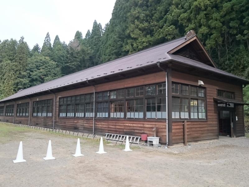 哀愁漂う旧五反田小学校校舎