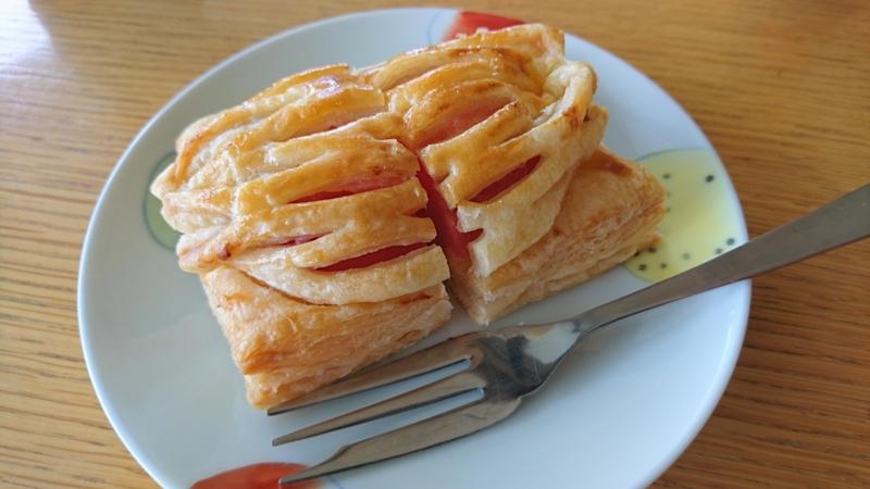 りんごたっぷりパイ