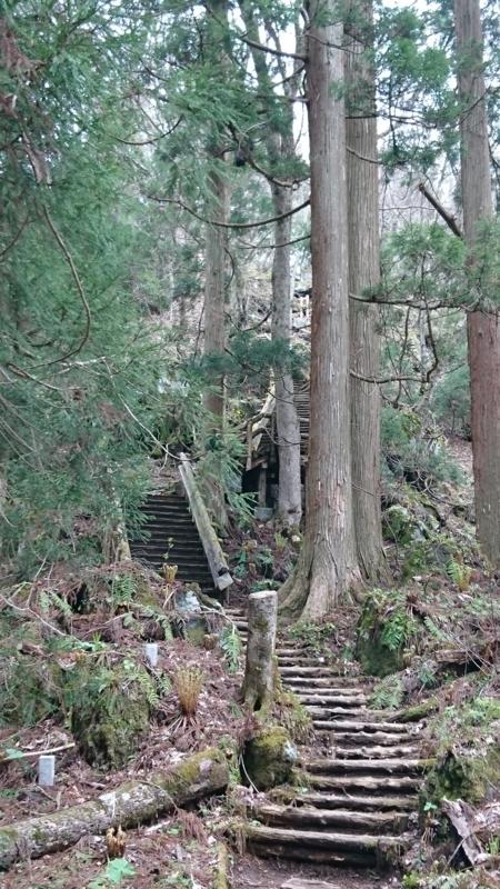 十和田神社先の階段