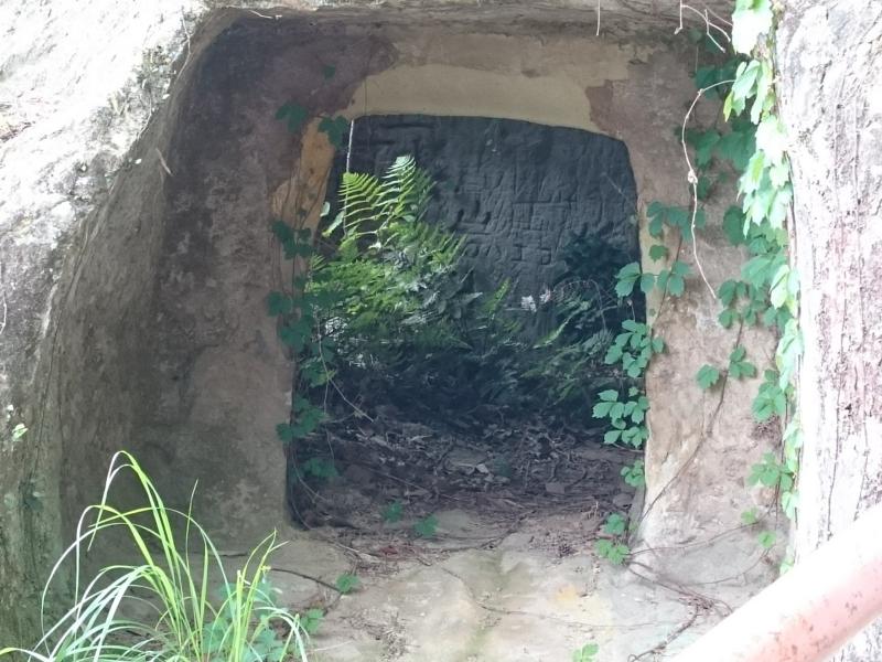 玄室の入口