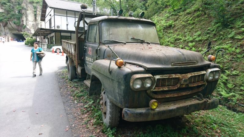 レトロなトラック