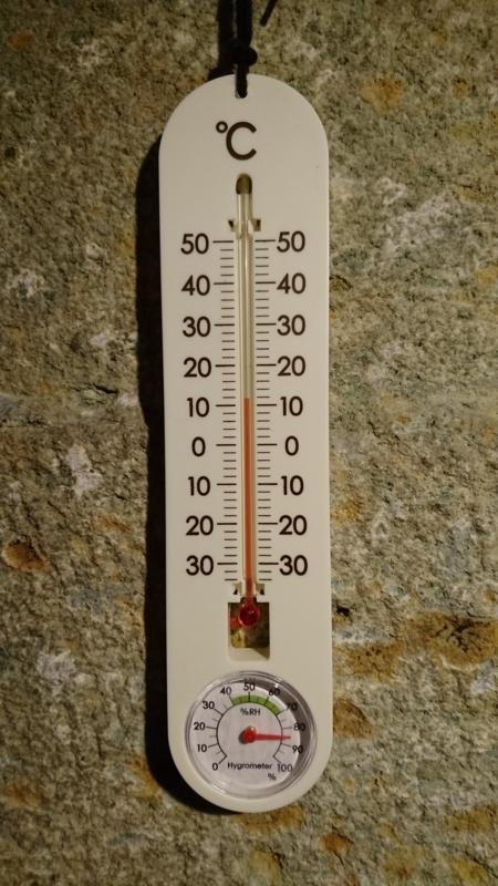 気温は12℃<