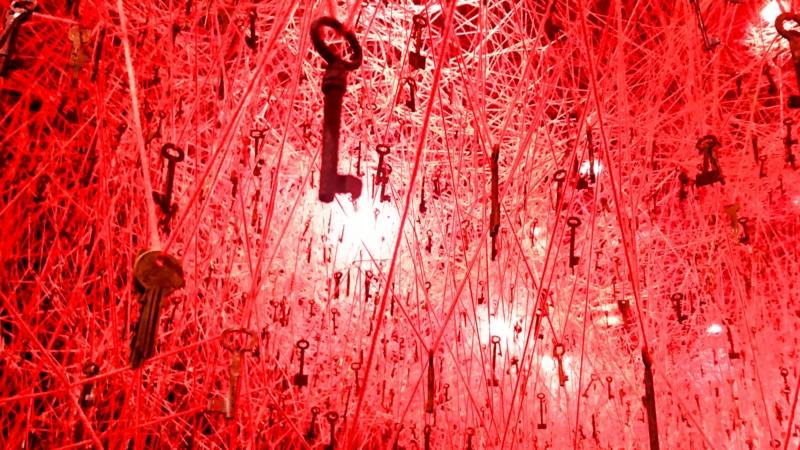 吊るされた鍵