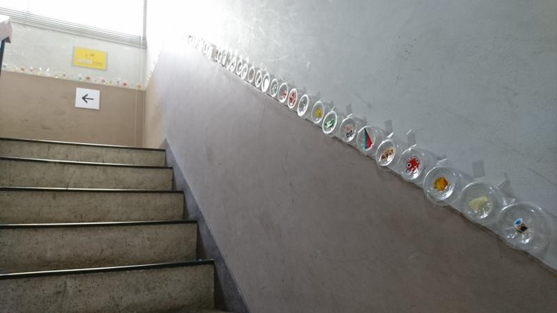 階段のパッキャラコレクション