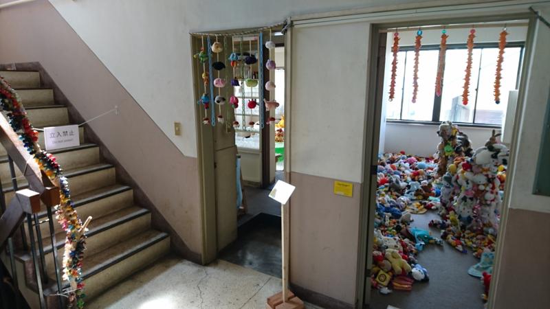 2階に上がると見えてくる藤浩志先生の世界