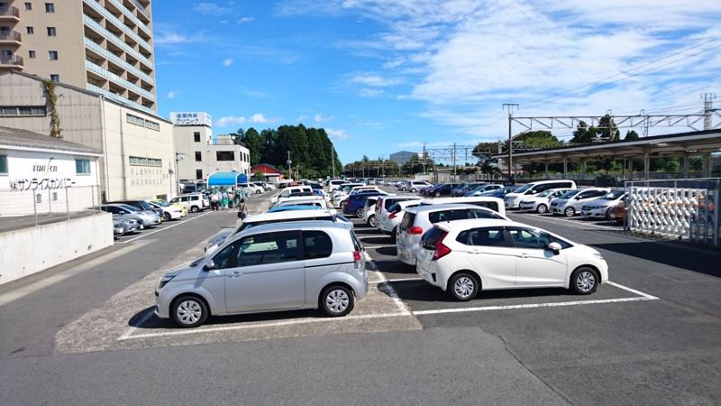 常陸多賀駅前駐車場