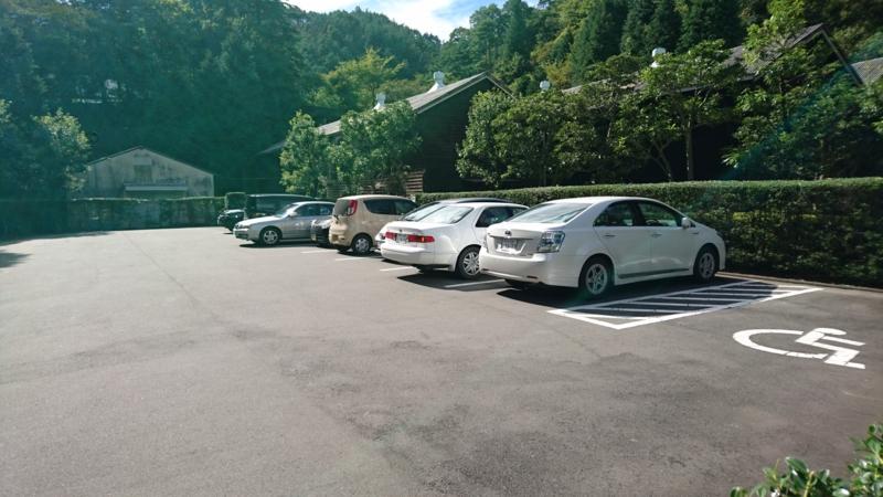 日鉱記念館第1駐車場の画像