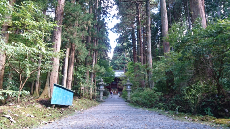 御岩神社の参道