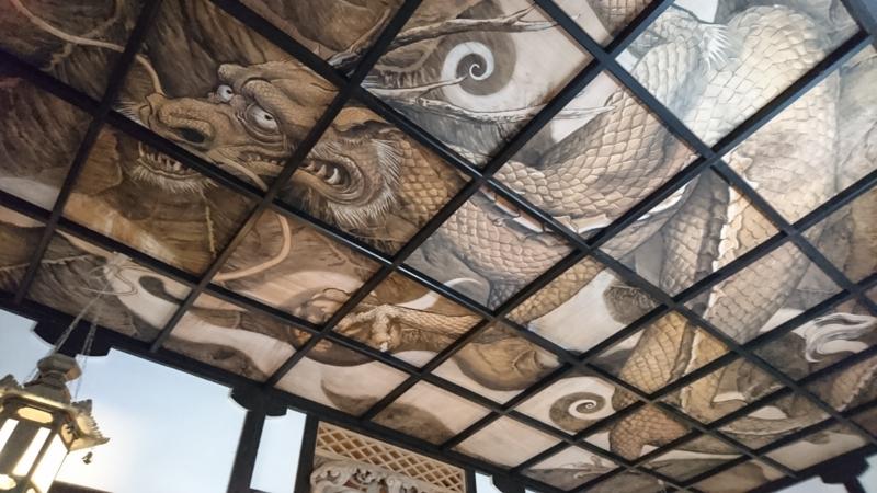 龍の天井画