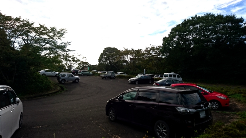旧常陸太田市自然休養村管理センター駐車場の画像