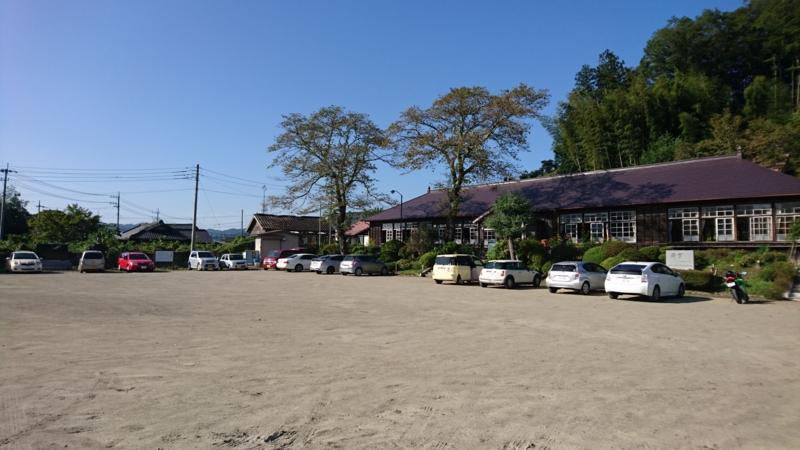 旧上岡小学校駐車場の画像