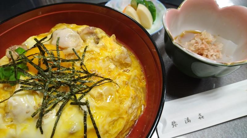 奥久慈しゃも丼の値段は税込み1200円