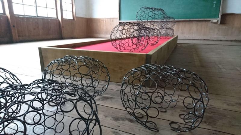 ▲[F-02]東京藝術大学 内藤早良(彫刻チーム)/『大子町の彫刻(まふまふ)』