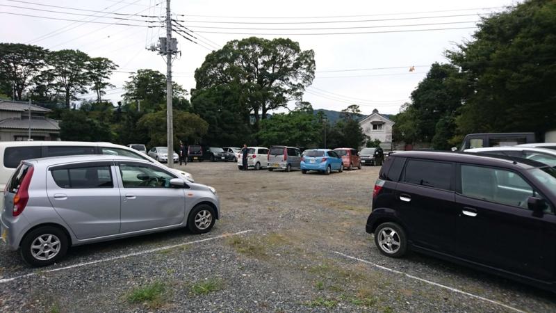 穂積家住宅駐車場の画像