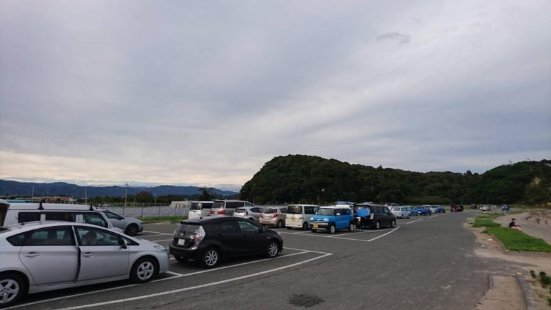 高戸前浜海岸駐車場