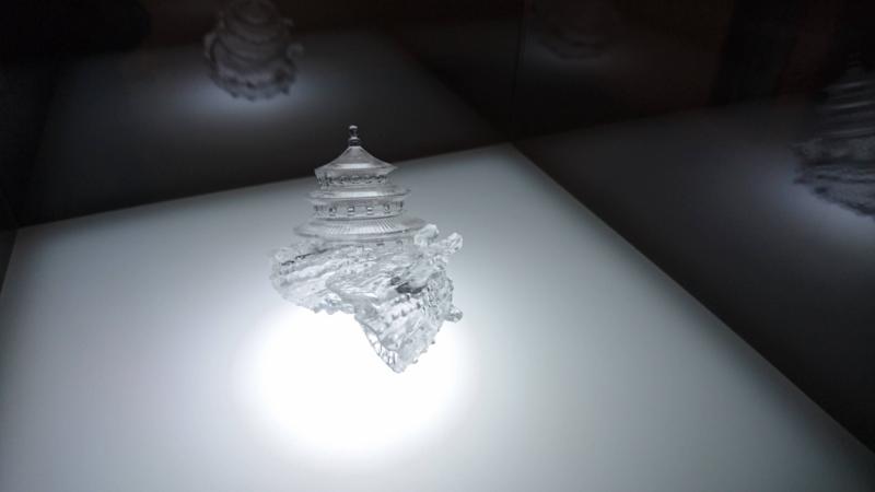 3Dプリンタで出力した人工の殻
