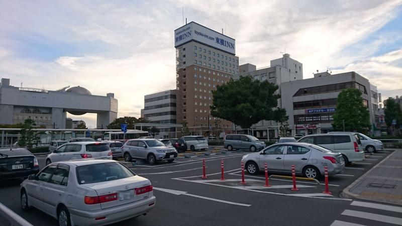 日立駅中央口駐車場の画像