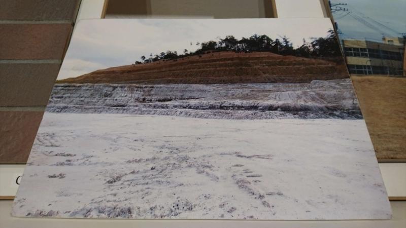 モチーフとなった採土場の写真