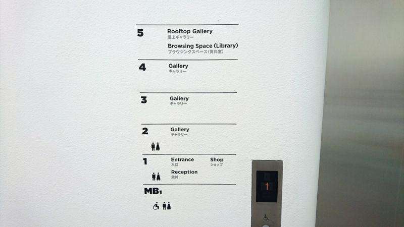 草間彌生美術館のフロアマップ