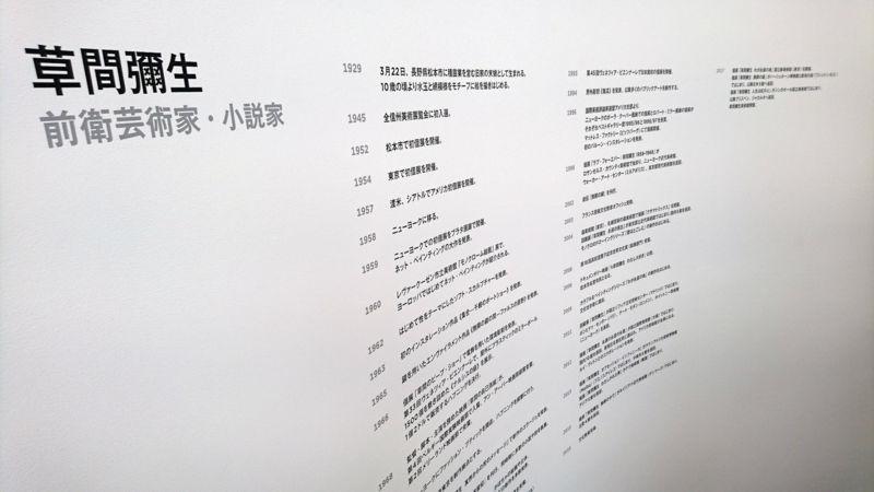 草間彌生先生の経歴