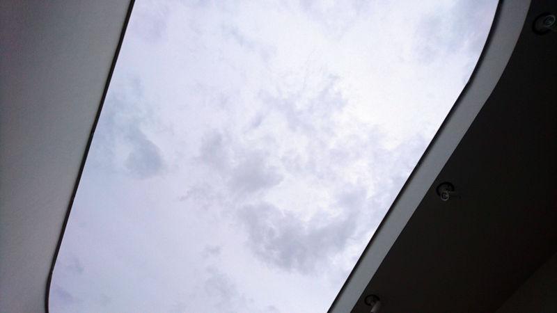 屋上の吹き抜け