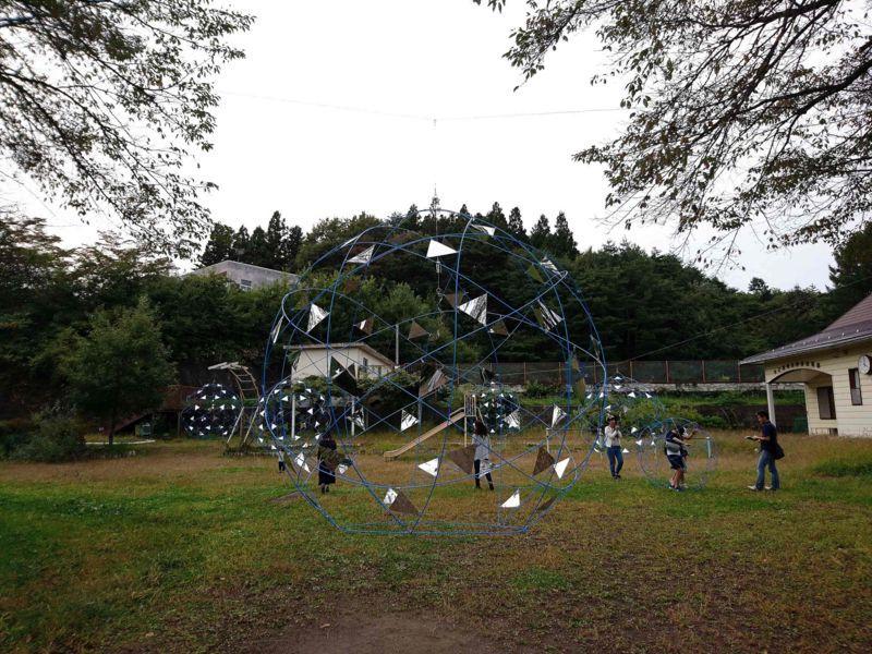「FRP FABRIC SPHERE」/岩城和哉+東京電機大学岩城研究室