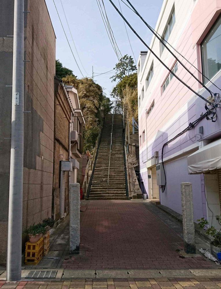 本瑞寺の階段