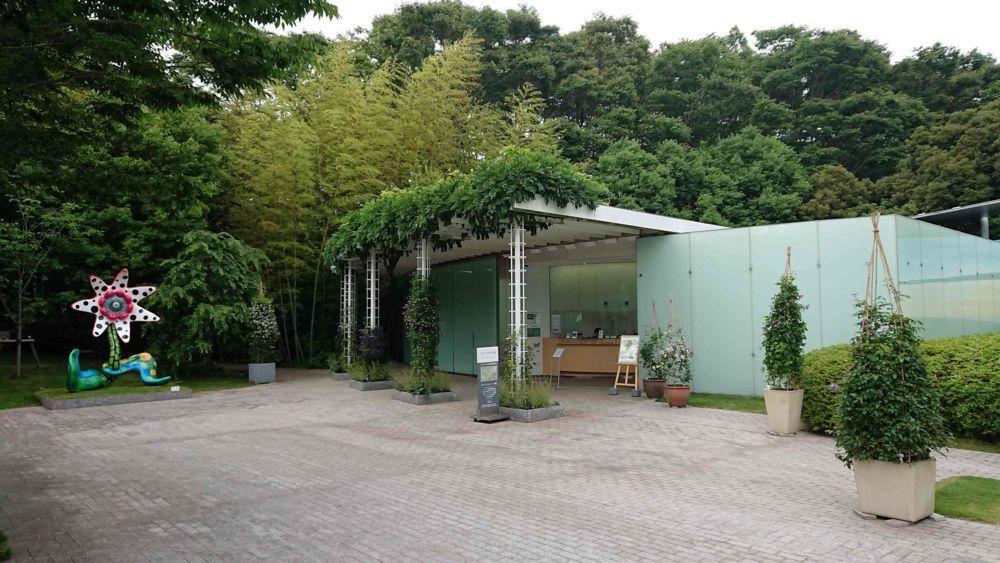 ヴァンジ彫刻庭園美術館のチケット売り場