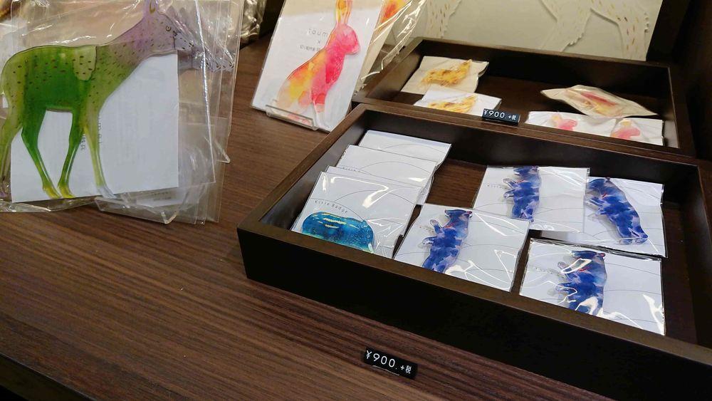 静水の間に展示してあった早川鉄兵さんとトウメイのコラボ作品